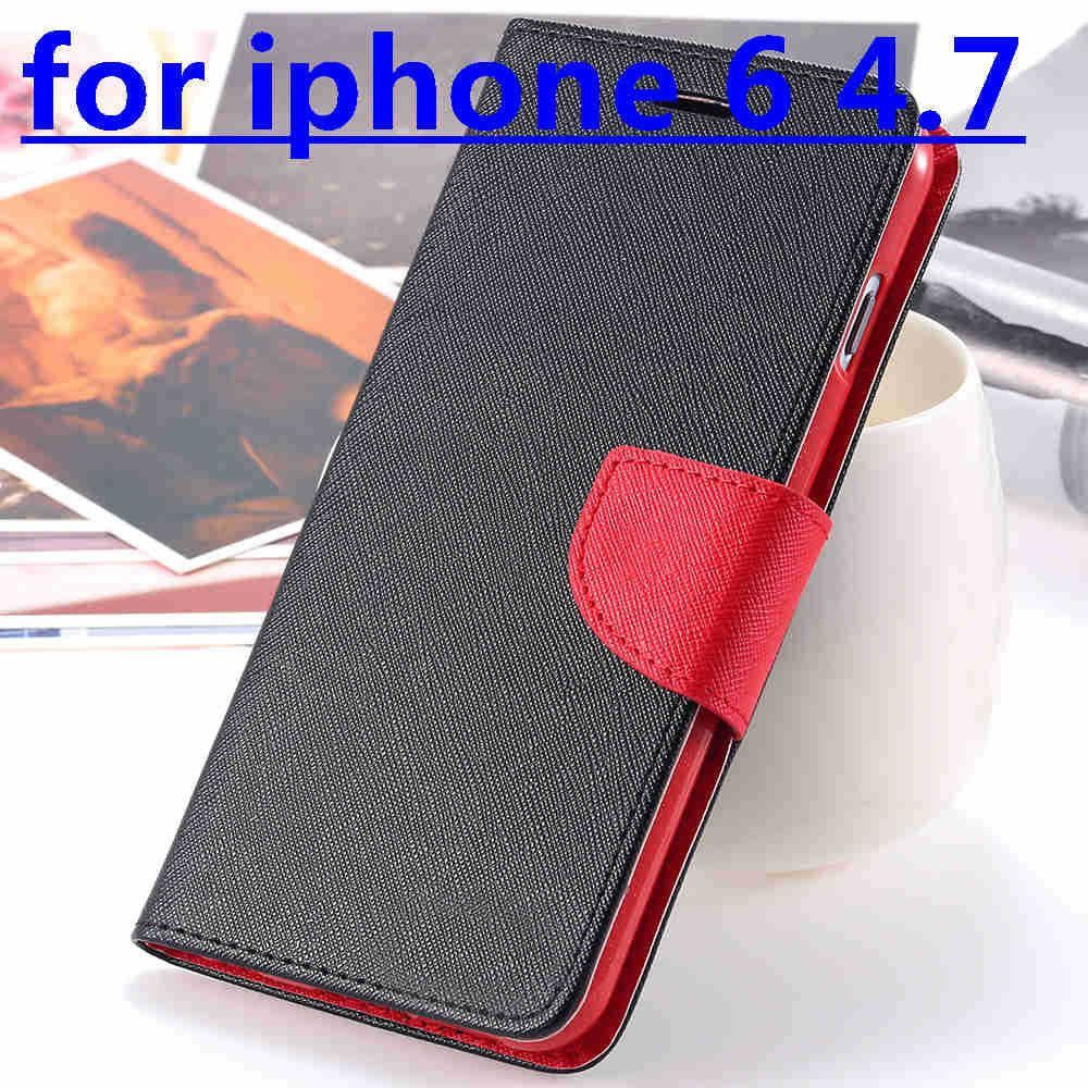 Fashion Luxury Wallet Stand Flip Case For iPhone 6 4.7