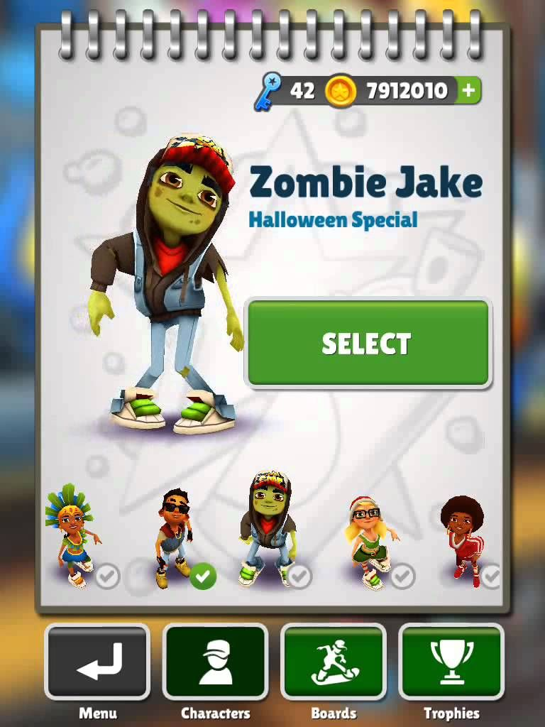 2d1998182efe2fcb48e485d5a6b30191 - How To Get All The Characters In Subway Surfers