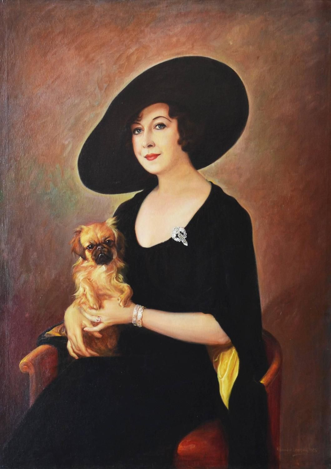 The Sophisticate From A Unique Collection Of Portrait Paintings