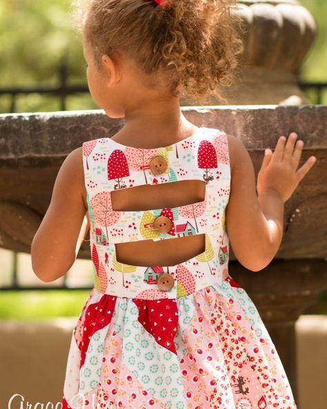 Emma S Herringbone Top Dress Maxi Pdf Sewing Patterns For