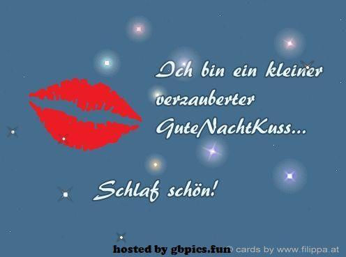 Gute Nacht Kuss Bilder  #GuteNachtbilder #GuteNachtKussBilder #GuteNachtKussBilderpics