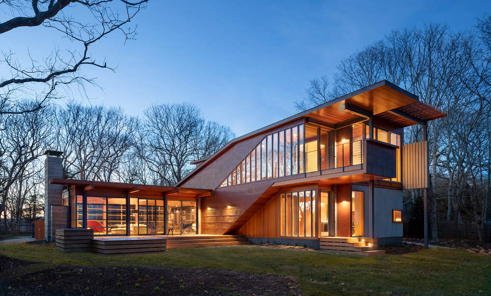 See the Streamlined Houses by the Architects of the Apple