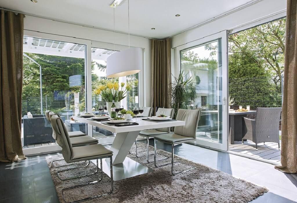 Gut Inneneinrichtung Essplatz Ideen City Life   Haus 250_WeberHaus   Essbereich  Esstisch Gestaltung Modern Offen Mit Terrasse