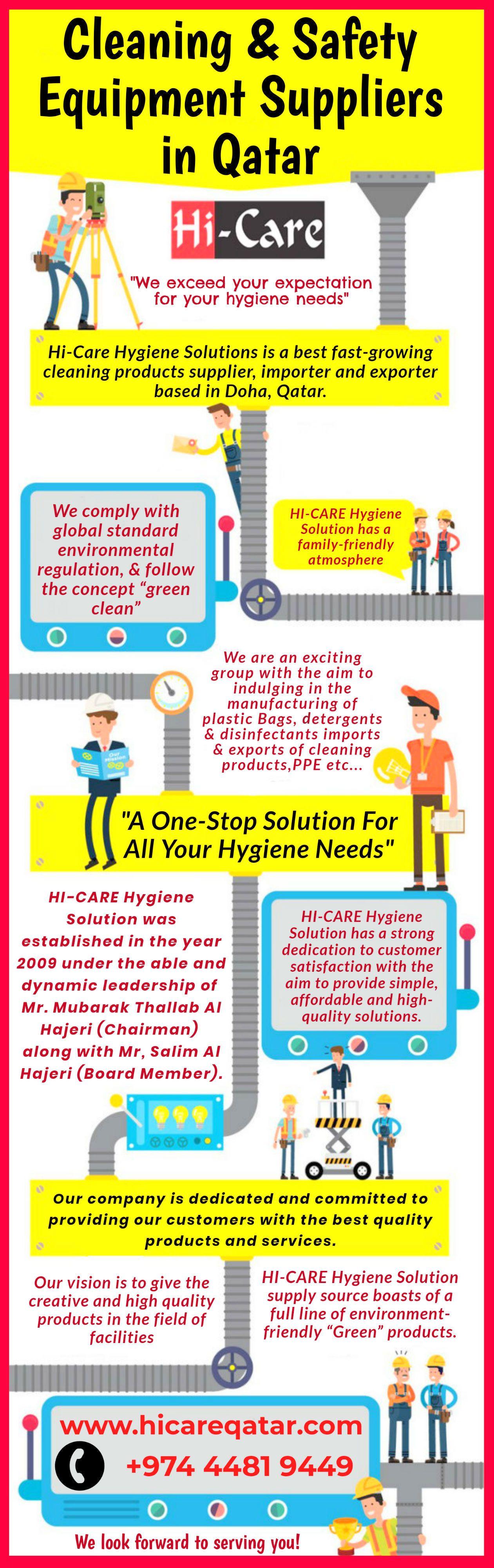 Best cleaning safety equipment suppliers in qatar best