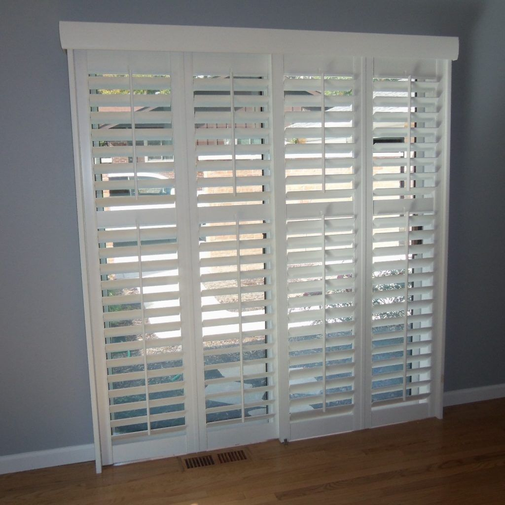 Bypass Shutters For Patio Doors Image Collections Glass