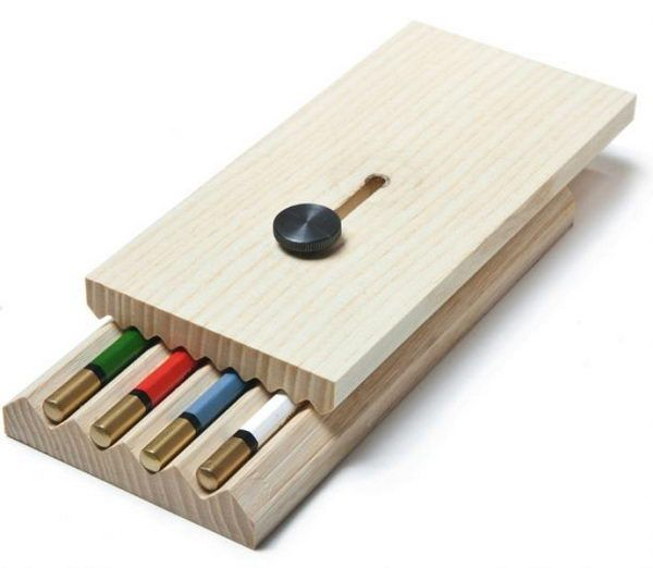 20 cool pencil case ideas wooden pencils pencil eraser Cool pencil holder ideas