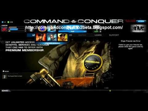 Command And Conquer Generals 2 Beta Hd Youtube Command And Conquer Video Games