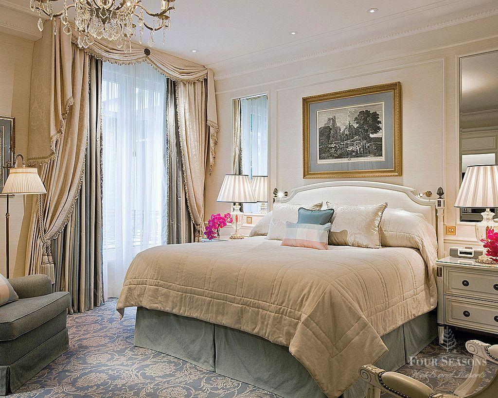 Royal suite four seasons hotel george v paris hotel for Decoracion de interiores paris