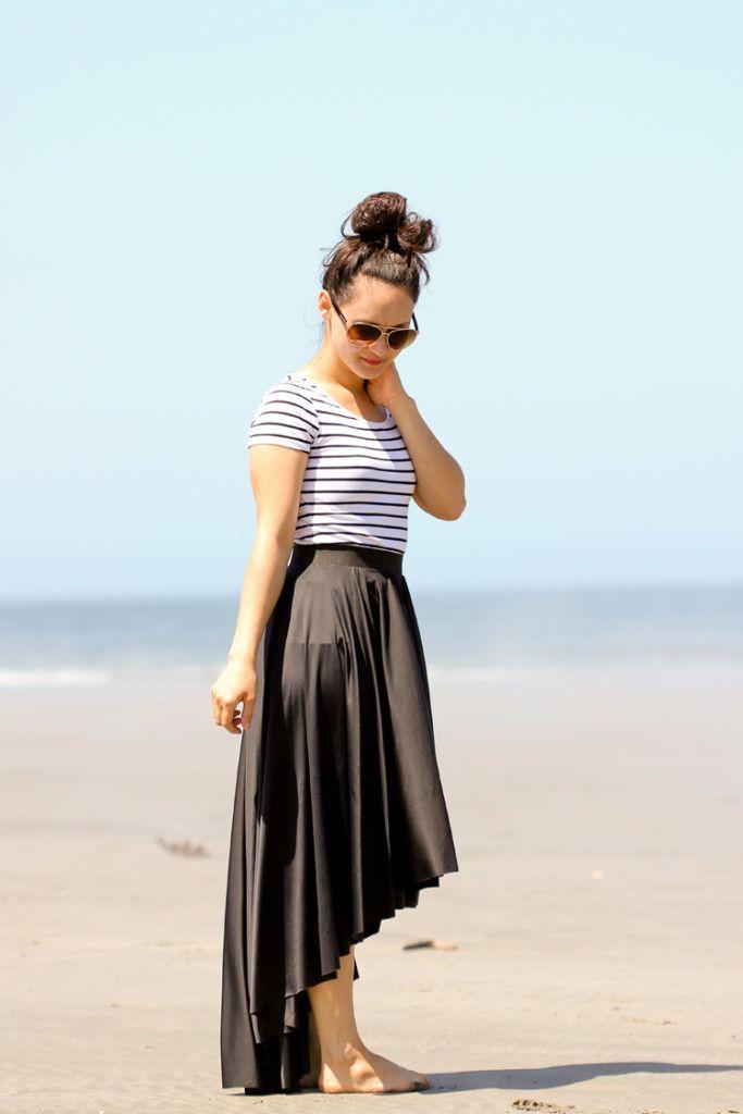 Fishtail Skirt Tutorial   Sewing Tutorials   Pinterest   Fishtail ...
