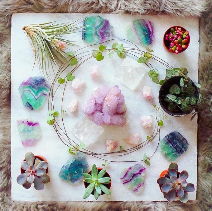 Mixing Gemstones Into Your Beauty Routine (like these from The Colourful Dot!!!)  | The Tao of Dana