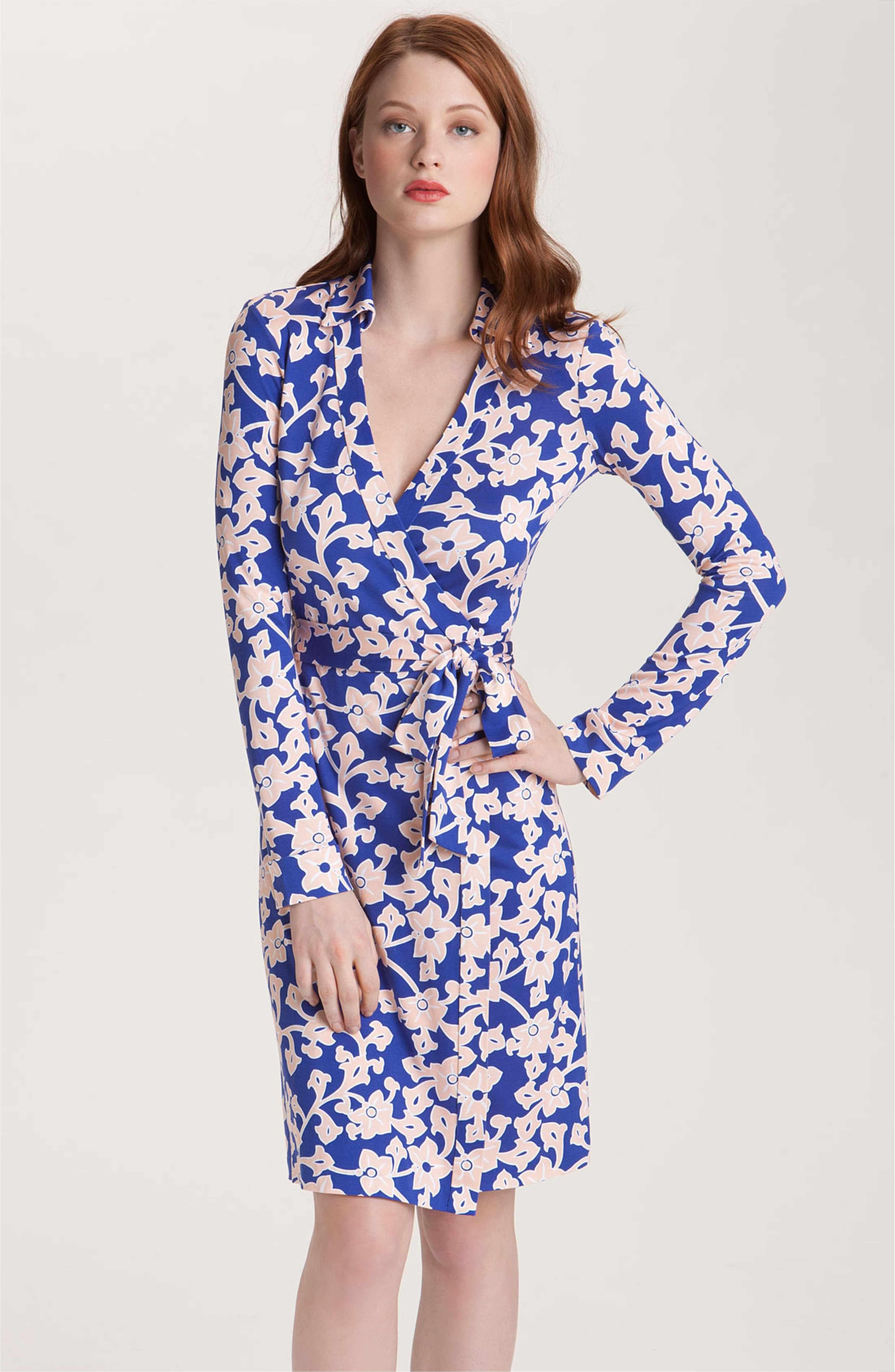 Diane Von Furstenberg New Jeanne Too Wrap Shirtdress Nordstrom Diane Von Furstenberg Diane Von Furstenberg Wrap Dress Silk Wrap Dresses [ 5272 x 3440 Pixel ]