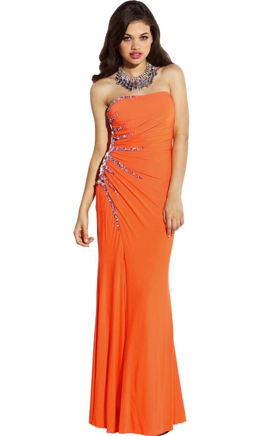 Plus size prom dresses cificplexstraplesssunburst
