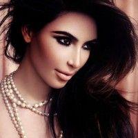 ...Y así se ve Kim Kardashian sin maquillaje.