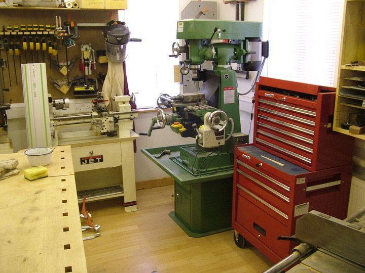 Home Machine Shop Home Workshop Hall Of Fame Garage