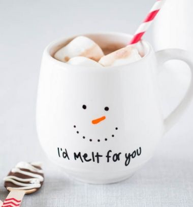 68020026ef Hóemeberes bögrék - karácsonyi ajándék egyszerűen / Mindy - kreatív ötletek  és dekorációk minden napra
