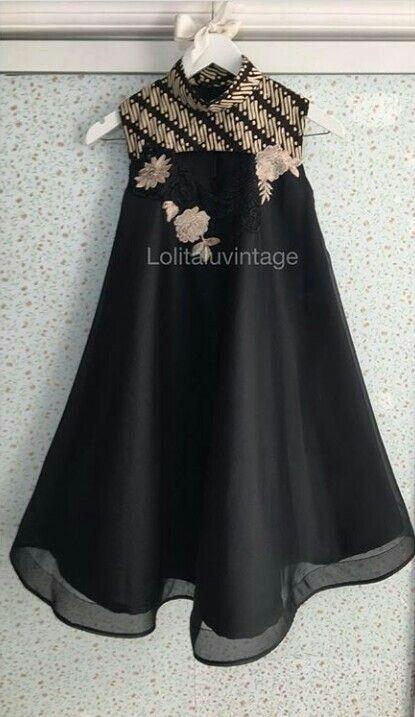 Pin Oleh La Rose Di Dress Pakaian Wanita Bunga Model