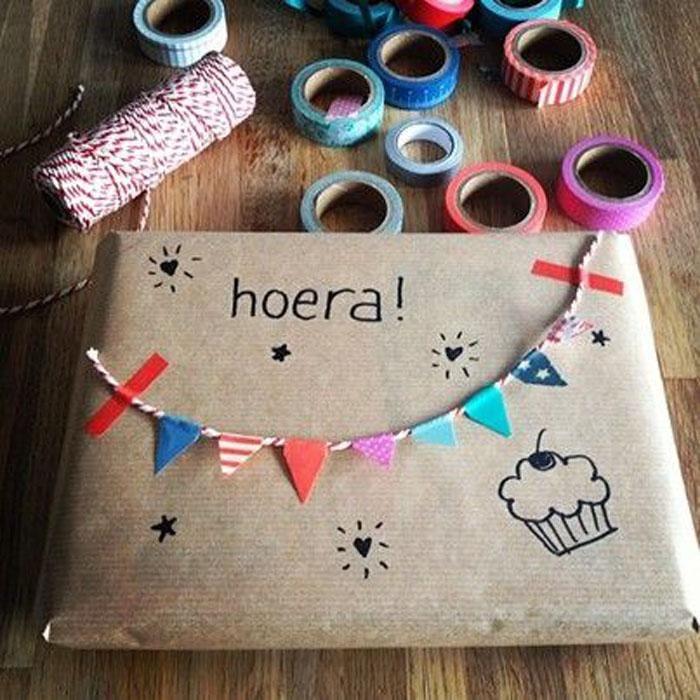 ideas divertidas para envolver los regalos