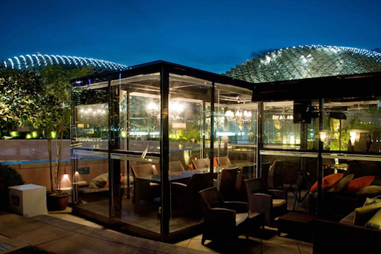La Terraza Rooftop Bar The Screening Room Architecture Exterior House In The Woods Architecture