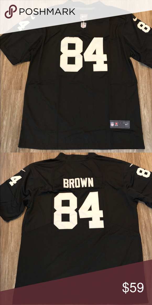 pretty nice eaed3 3cb4a Antonio Brown XXL Raiders Jersey NWT. Stitched Brand new ...