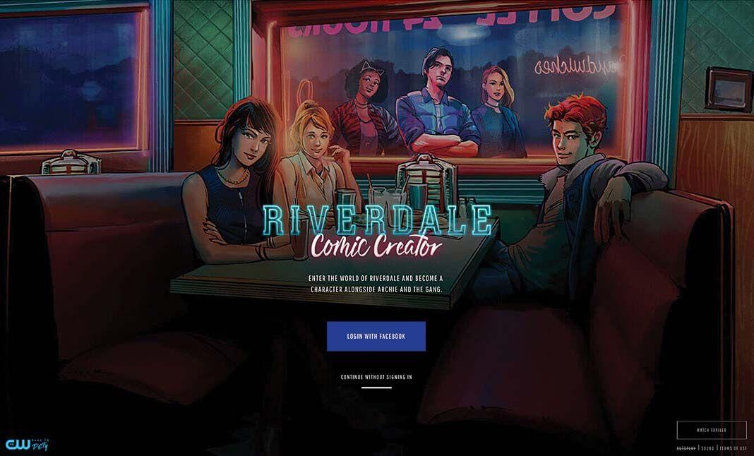Riverdale Comic Creator Riverdale Comics News Web Design The Creator