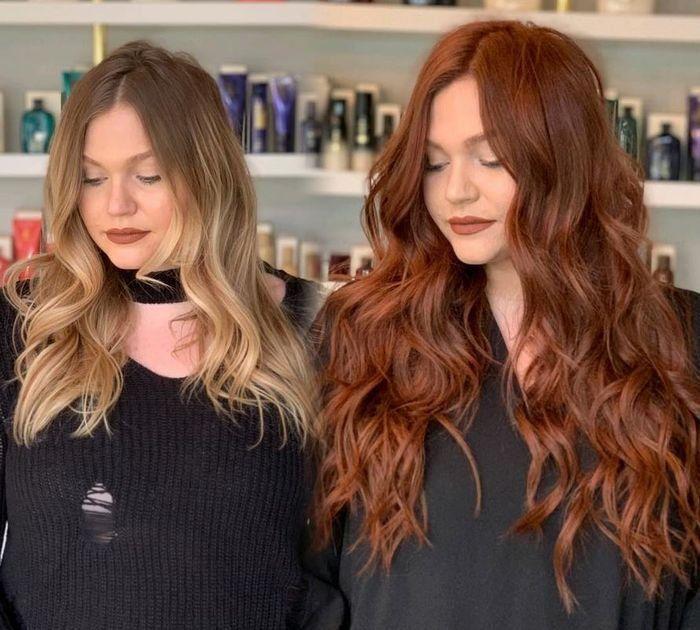 Ravishing Red Makeover: Redken Formula, Bellami Ha