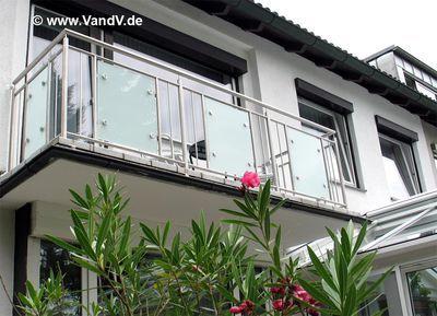 bildergebnis f r balkongel nder edelstahl glas holz. Black Bedroom Furniture Sets. Home Design Ideas