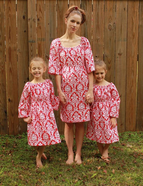 34d2e3ae8 Mother daughter matching Christmas dresses by sweethomeboutique ...