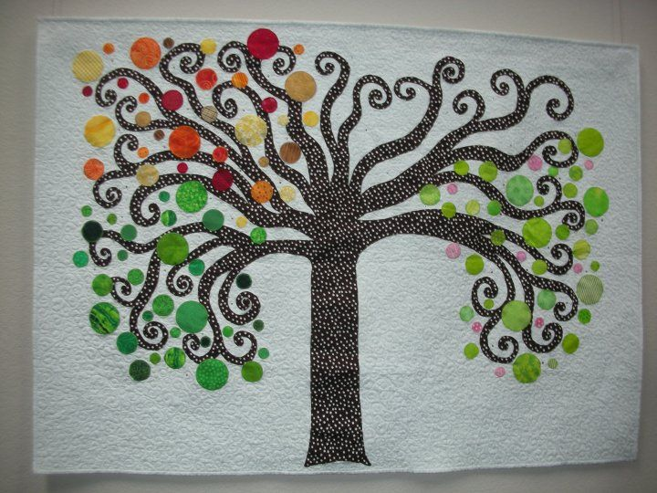 Tree of Life quilt - not so much this but tapestry inspiration