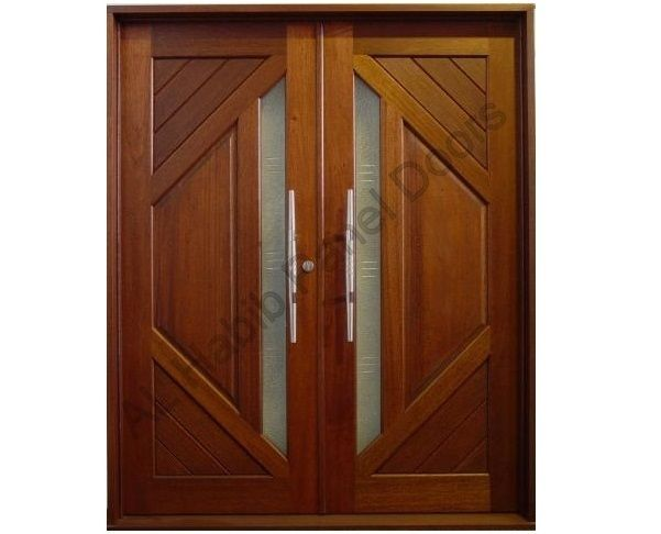 Diyar Wood Main Double Door Pid004 Main Doors Design Door