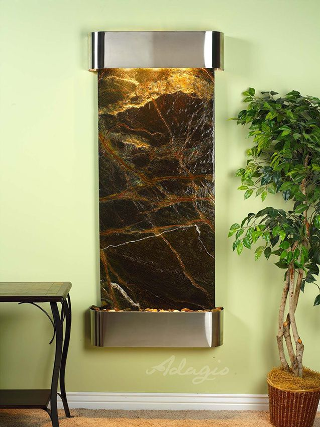 An Indoor Water Feature For Your Home And Adds Modern Style. Did You Know  Installing