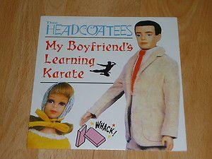 """THEE HEADCOATEES - My Boyfirends Learning Karate - 7"""" VINYL JAPAN PAD 1"""