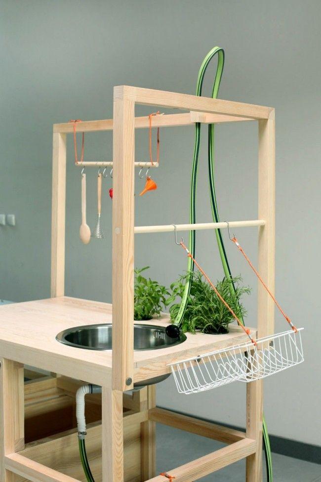 mobiler küchenblock-freistehend mit rollen | möbel | pinterest, Kuchen