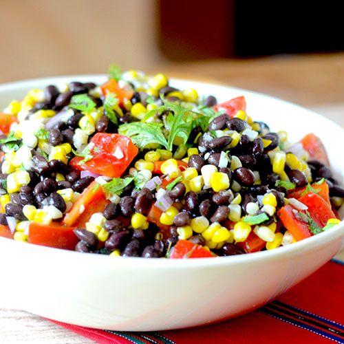 Black Bean Corn Salad Recipe With