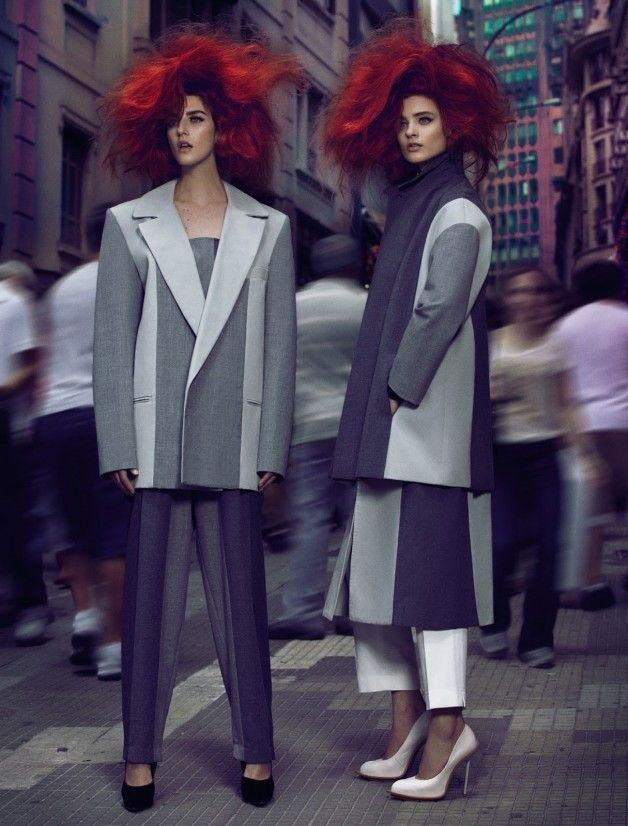 Fabio Bartelt Turns up the Volume in 'Proporção GG' for Vogue Brazil