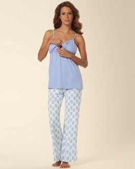 cdb1984a4fb38 Soma Intimates Belabumbum Nursing Pajama Set Violette #somaintimates ...