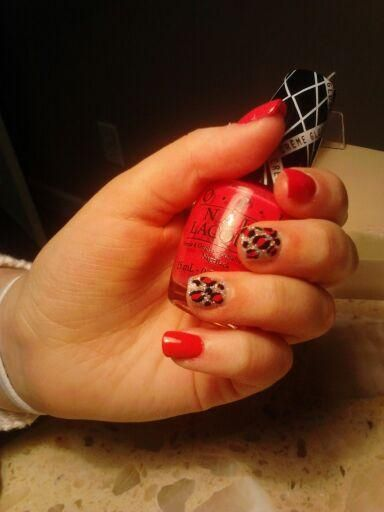 Red Cheeta Class Ring Tough As Nails Rings