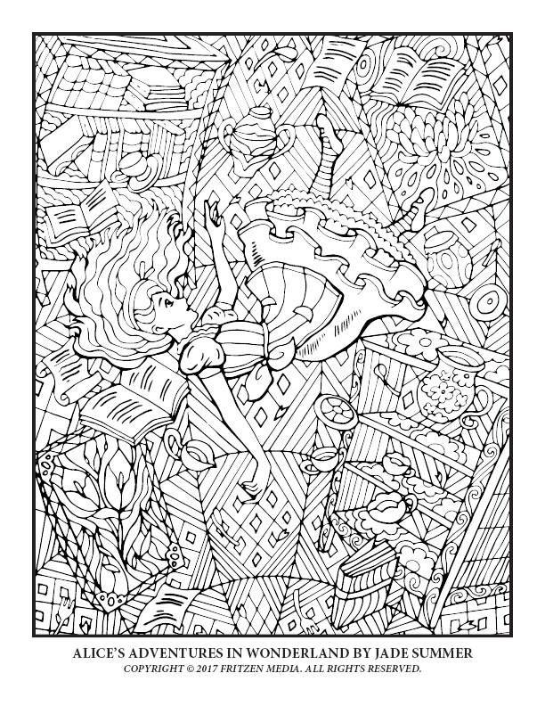 Alice\'s Adventures in Wonderland by Jade Summer | Print ...