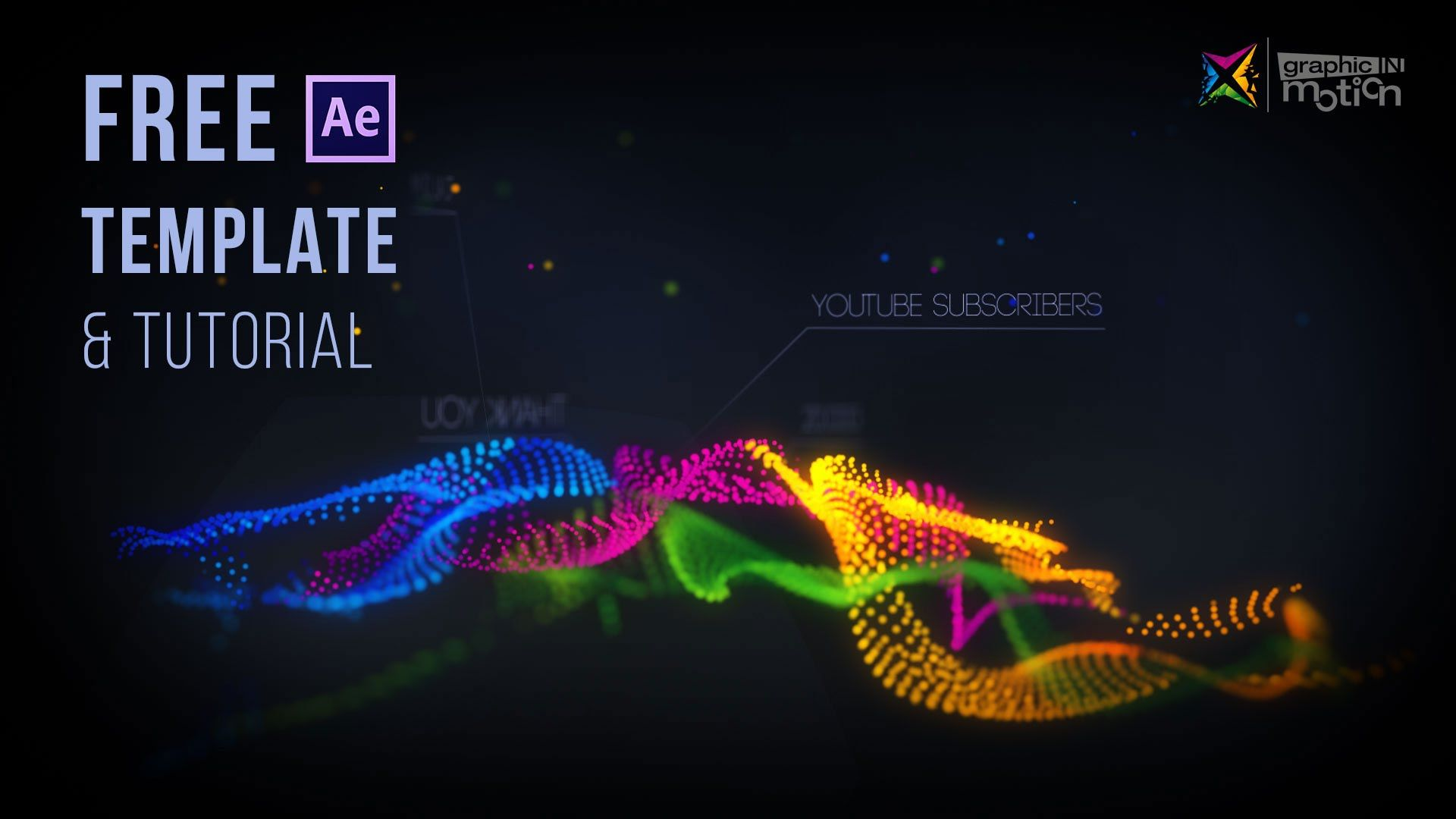 Particle Waves Intro - Free After Effects Template & Tutorial ...