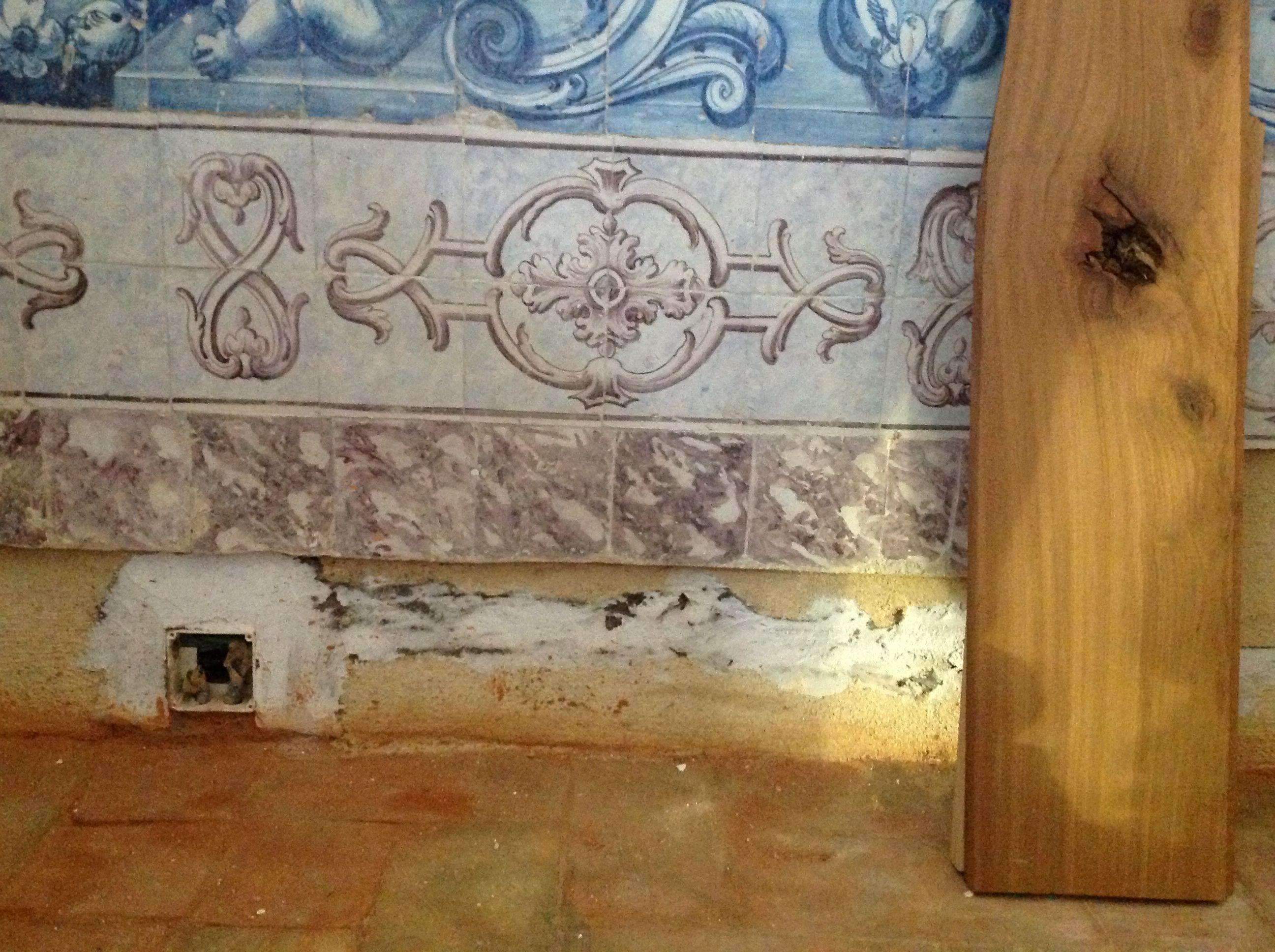 Azulejos capela mor