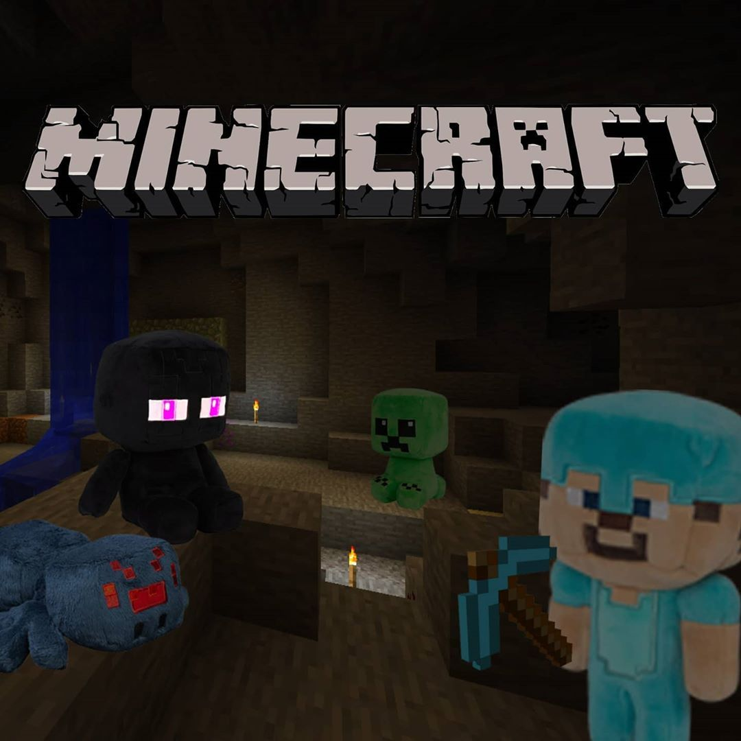 Prepare for an adventure of limitless possibilities as you build, mine, battle mobs, and explore the ever-changing Minecraft landscape! , , , , , , , , , , , , , , , , , #minecraft #minecrafttoys #minecrafters #mine #craft #minecraftersonly #minecraftplush #minecraftplushies #toy #toysonline #funtoys #shoppingonline #plush #plushies #plushiefriends #plushiesofinstagram #shoppingtime #shoppingeveryday #homebored #homeshopping #instagramdaily #instagram #tuesday