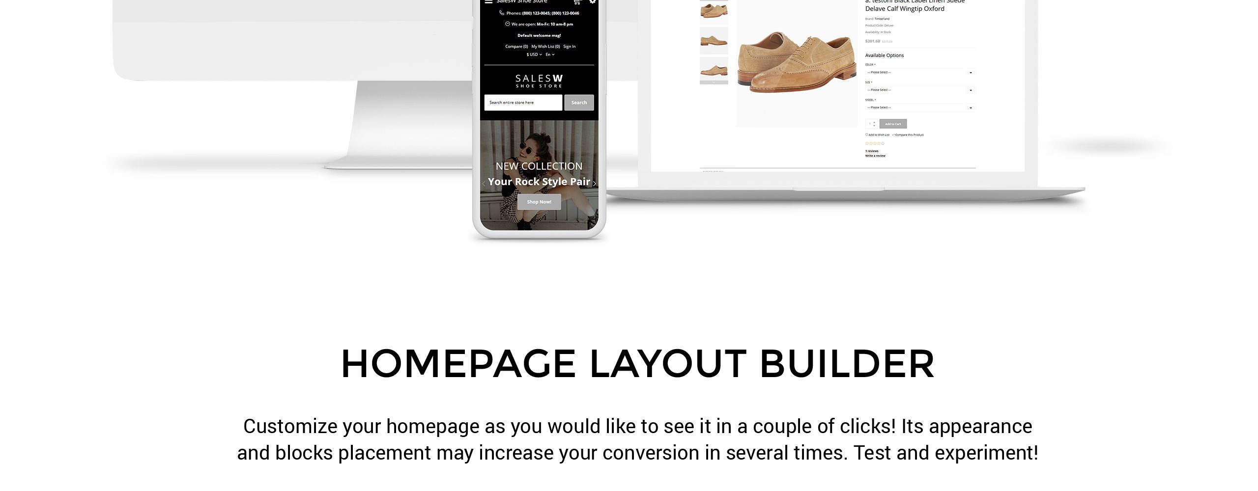 Salesw Shoes Responsive Practival Opencart Template 76737 With Images Opencart Templates Ecommerce Template Portfolio Templates