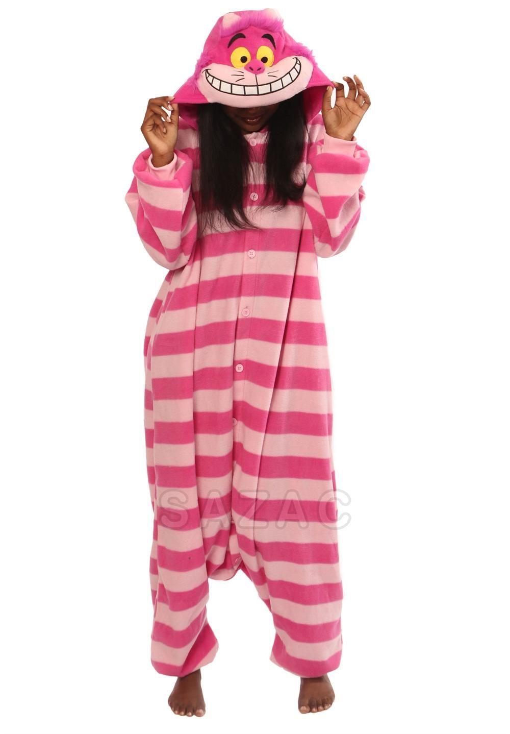 797d7416b Cheshire Cat Kigurumi | WISH LIST | Animal pajamas, Girls pajamas ...