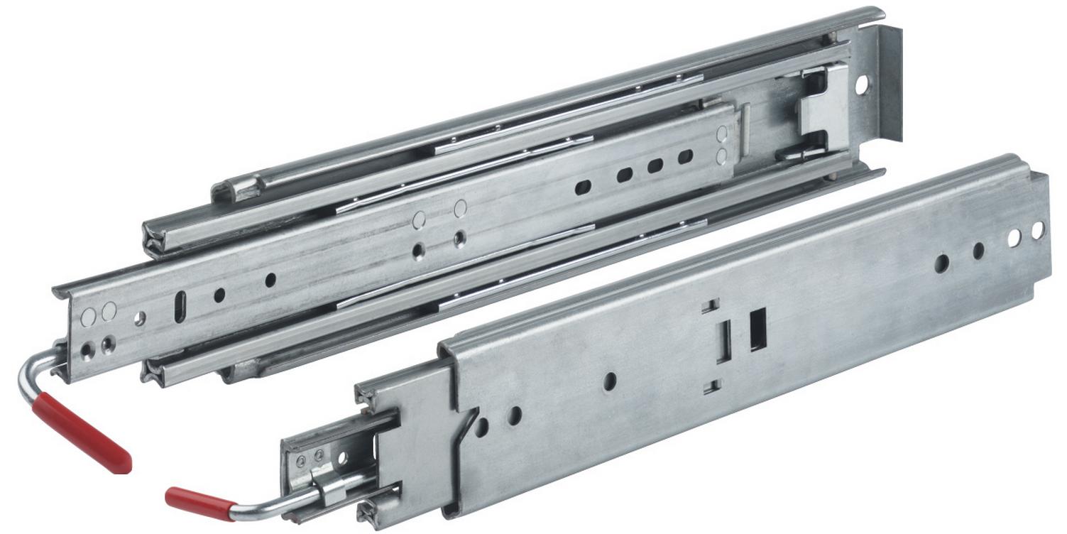 30 Locking Drawer Slide Full Extension 03338 030 44100 Heavy Duty Drawer Slides Drawer Slides Camper Awnings
