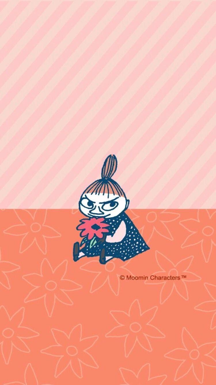 ツ ᴘɪɴᴛᴇʀᴇsᴛ ᴍʏʟᴇɴᴀ ʙᴀᴄʜᴍᴀɴɴ ムーミン 壁紙 花 イラスト リトルミイ 画像