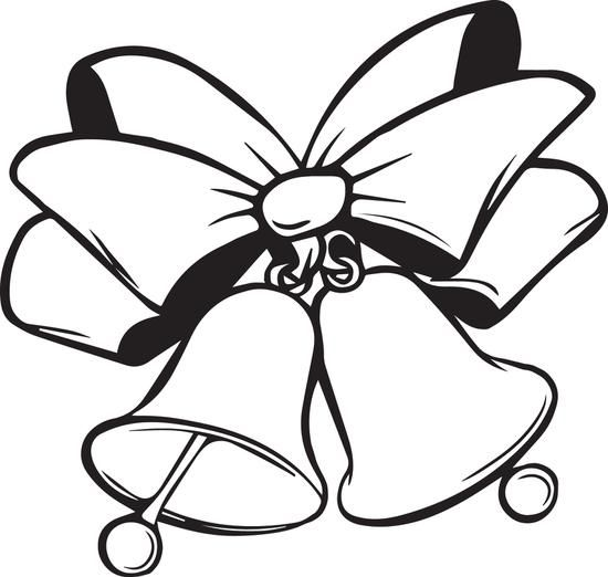 Christmas Bells Coloring Page 4 Christmas Coloring Pages