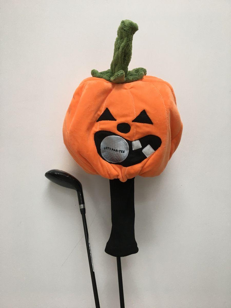 Halloween Pumpkin Golf Club Headcover Fun Golfing Gift Etsy In 2020 Golf Gifts Halloween Pumpkins Golf Clubs