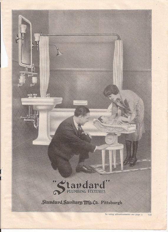Bathroom Fixtures Pittsburgh standard plumbing fixtures pittsburgh magazine ad from good