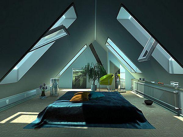 32 Attic Bedroom Design Ideas Attic Design Attic Bedroom Designs Attic Rooms
