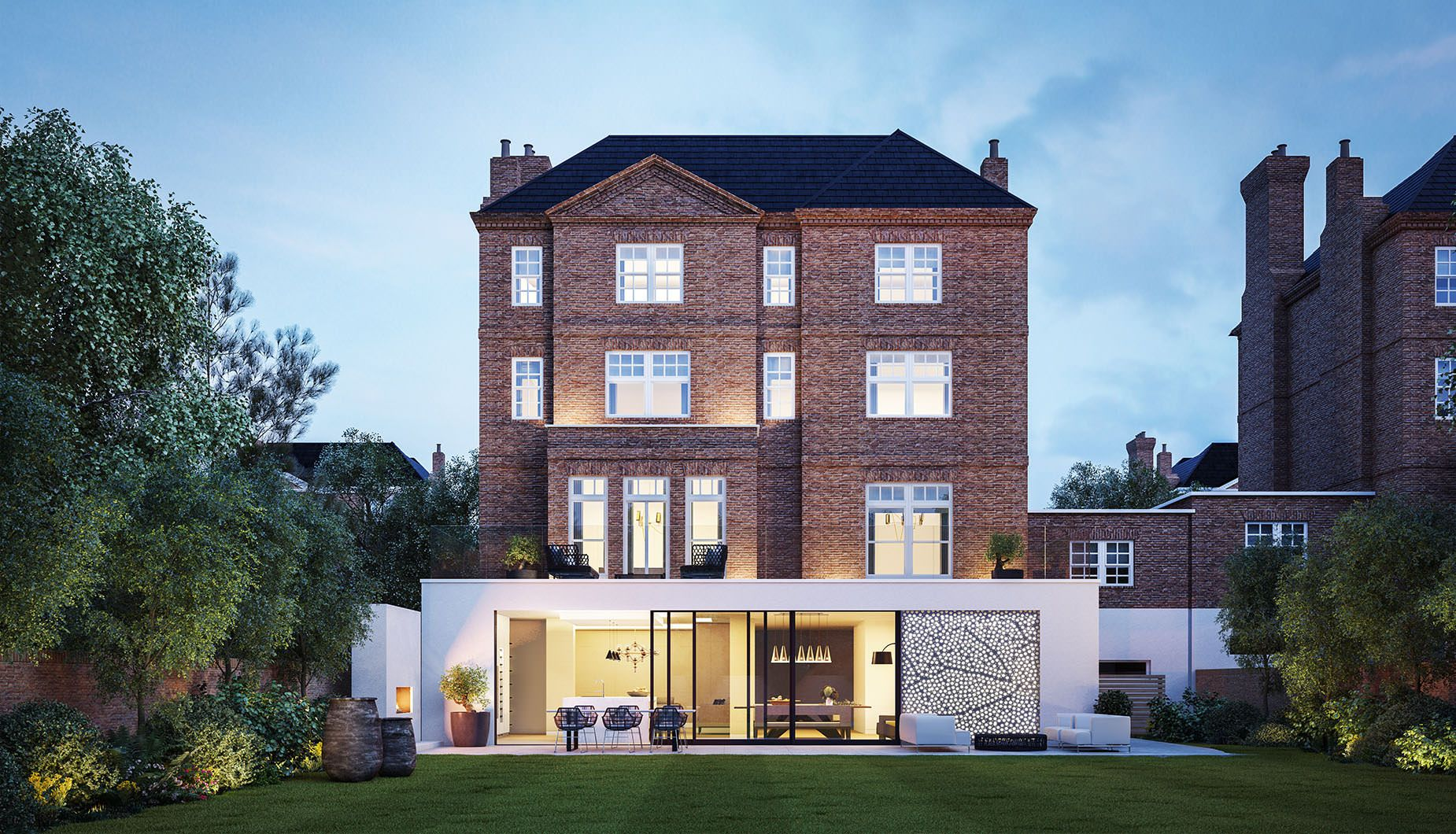 Stunning Large Victorian Villa With Modern Extension