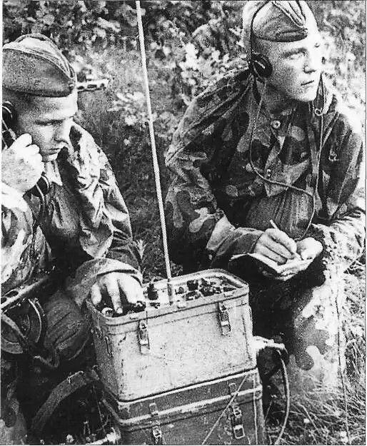 Autumn 1942: soviet artillery observers